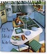 House And Garden Kitchen Ideas Issue Canvas Print