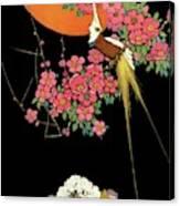 House And Garden Spring Gardening Guide Canvas Print