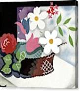 House And Garden Summer Furnishings Number Cover Canvas Print