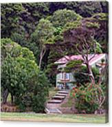 House And Garden Waitamgi Canvas Print