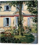 House At Rueil Canvas Print