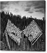 House Broken Canvas Print