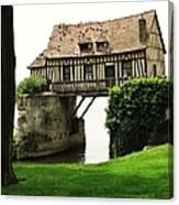 House But No Land Canvas Print