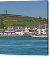 House In A Town, Portaferry Canvas Print