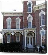 House In Denison Texas Canvas Print