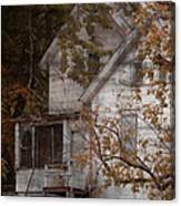 House In Fall Canvas Print