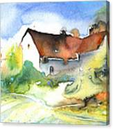 House In Germany Canvas Print