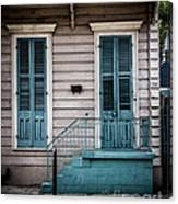 House Of Blue Doors Canvas Print