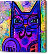 House Of Cats Series - Paws Canvas Print