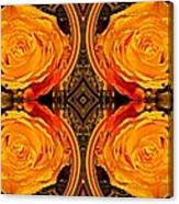 House Of Roses Canvas Print