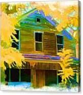 House On Main Street Canvas Print