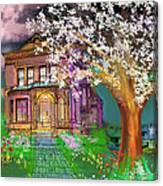 House On Milbert Street Canvas Print