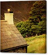 House On The Hills. Wicklow. Ireland Canvas Print