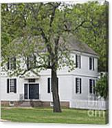 House On The Palace Green Canvas Print