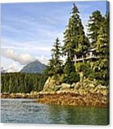 House Upon A Rock Canvas Print