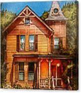 House - Victorian - The Wayward Inn Canvas Print