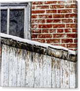House With Shed 13122 Canvas Print