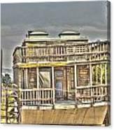 Houseboat 2 Canvas Print
