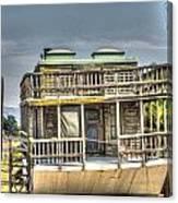 Houseboat 3 Canvas Print