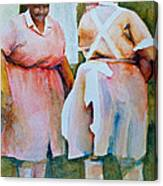 Housekeepers Of Soniat House Canvas Print