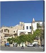 Houses In Jaffa Tel Aviv Israel Canvas Print