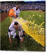 Houston Astros V Kansas City Royals Canvas Print