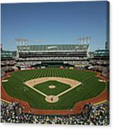 Houston Astros V Oakland Athletics Canvas Print