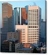 Houston Financial District Canvas Print
