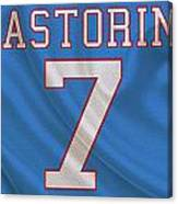 Houston Oilers Dan Pastorini Canvas Print