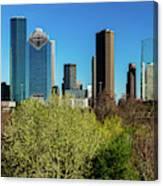 Houston Skyline, Houston, Texas Canvas Print