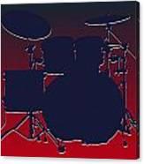 Houston Texans Drum Set Canvas Print