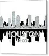 Houston Tx 4 Canvas Print