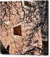 Hovenweep Window Canvas Print