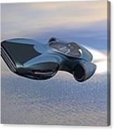 Hover Car Canvas Print