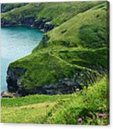 Rolling Hills Of Green Canvas Print