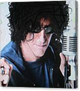 Howard Stern - Radio King Canvas Print