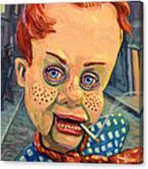 Howdy Von Doody Canvas Print