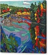 Howry Creek Campsite Canvas Print