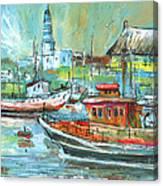 Howth Harbour 01 Canvas Print