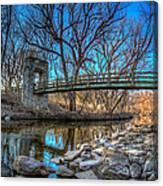 Hoyt Bridge Canvas Print