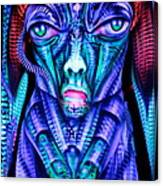 H.r. Giger Inspired D Canvas Print