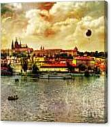 Hradczany - Prague Canvas Print