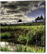 Hst In The Culm Valley  Canvas Print