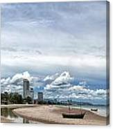 Hua Hin Coastline Canvas Print