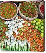 Hua Hin Market 03 Canvas Print