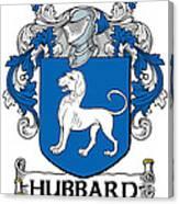 Hubbard Coat Of Arms Cork Ireland Canvas Print
