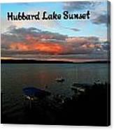 Hubbard Lake Canvas Print