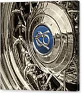 Hubcap Deluxe Canvas Print