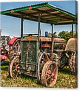 Huber Tractor Canvas Print