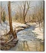Hubers' Woods Canvas Print